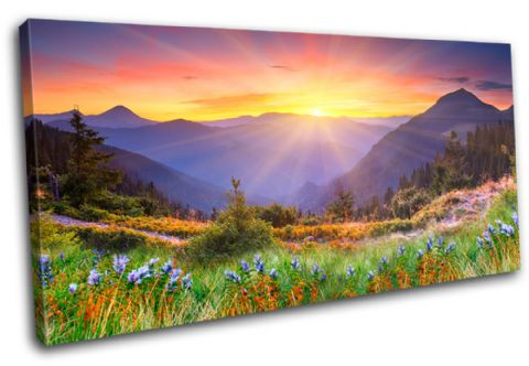 Sunset Mountains Landscapes - 13-0273(00B)-SG21-LO